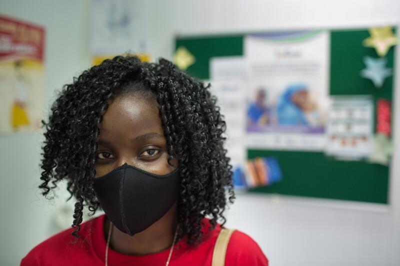 Bebina Cuamba, patient. Mozambique.
