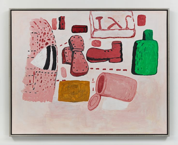 Artwork related to exhibition: Philip Guston A Painter's Forms, 1950 – 1979