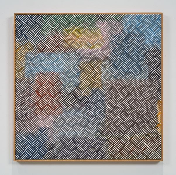 Artwork related to exhibition: Jack Whitten Self Portrait With Satellites