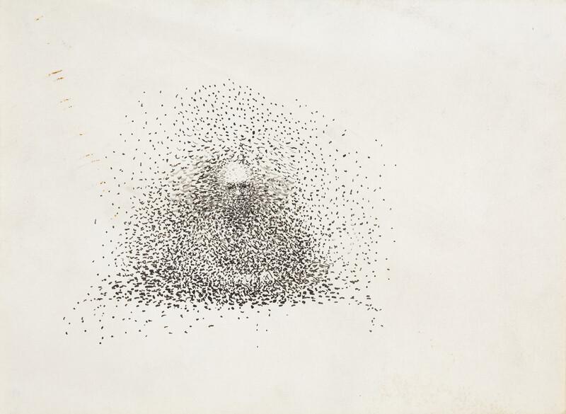 _ ER_Untitled, ink on paper, 12 x 16,2 cm, undated