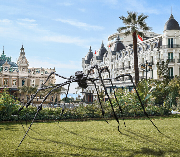 Bourgeois Spider in Monaco