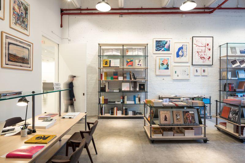 Hauser & Wirth Publishers Bookshop Photo by Timothy Schenck