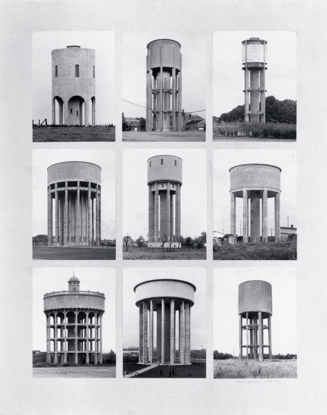 BECHER B&H _Chateaux d'eau_1972_BECHE87174