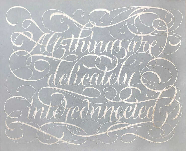 Artwork related to exhibition: 'ALL THINGS ARE DELICATELY INTERCONNECTED'