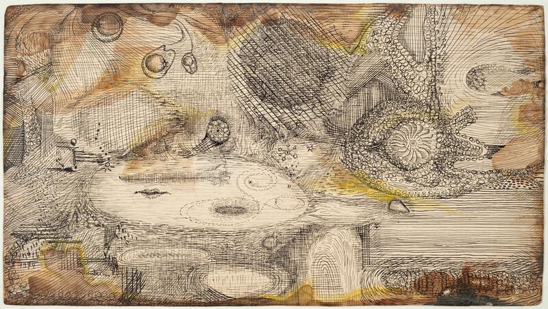 _ ER_Curb, ink on paper, 34,8 x 62,2 cm, 1974