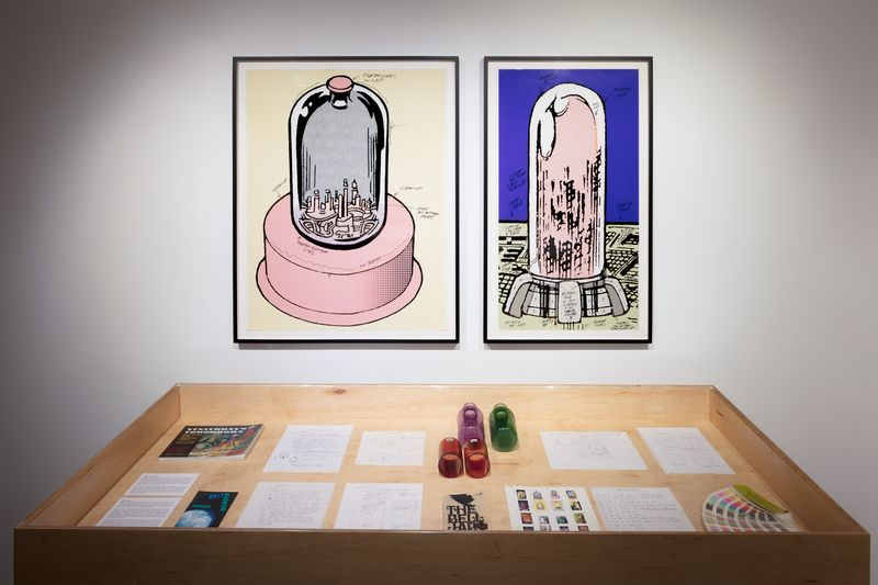 Mike Kelley, Kandors, Hauser and Wirth Los Angeles, 2017 October